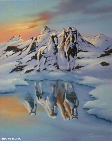 Still need to frame this one, Jim Warren - Alaskan Illusion