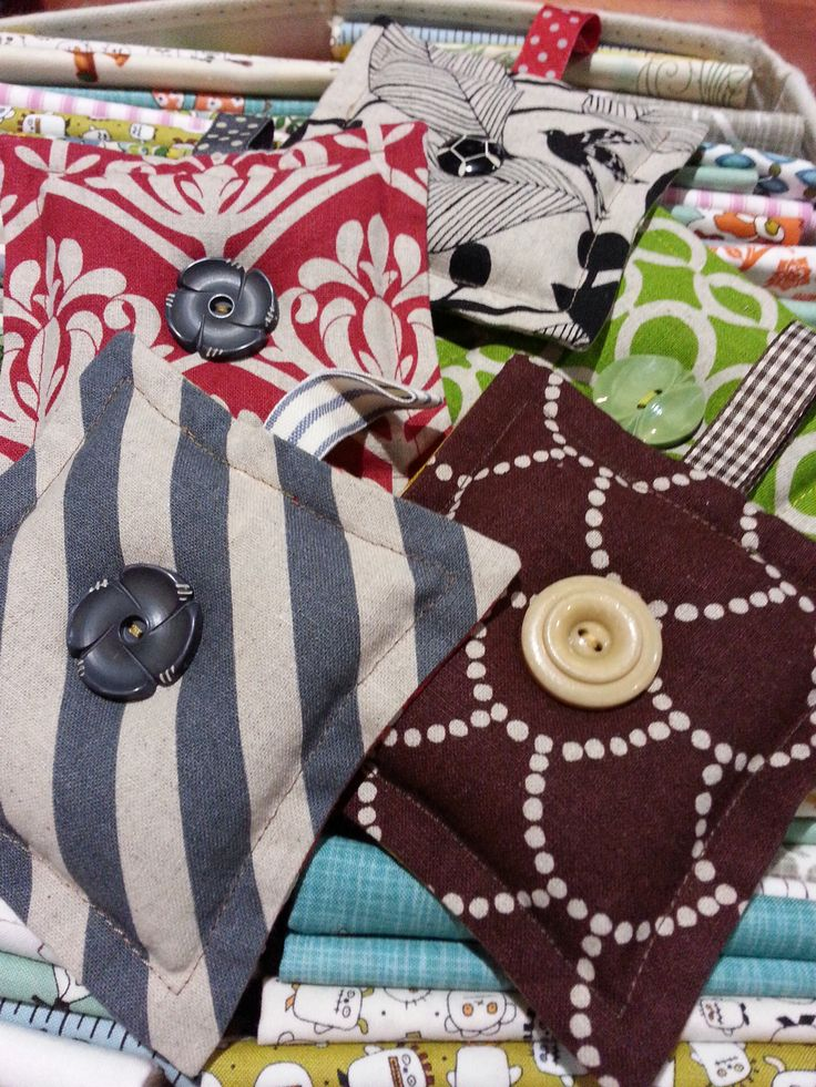 Lavender bags from Echino patchwork fabric