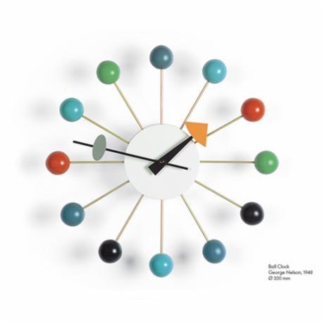 Vitra - Ball Clock multicolor