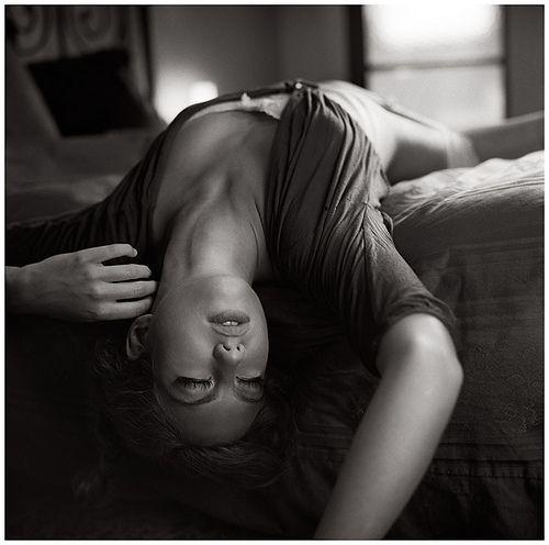 Beautiful, Photography, Woman, Bedroom, B, Blackwhite, Portrait, Micmojo.