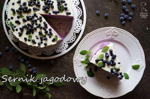Kulinarne przygody Gatity: Sernik jagodowy na zimno