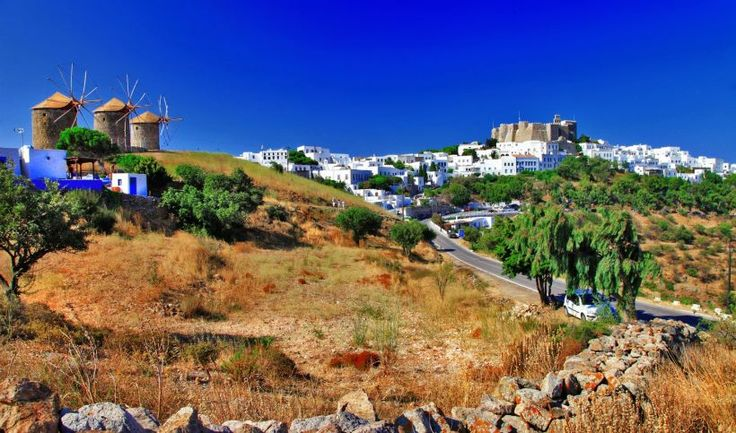 Travel to Patmos and discover this stunning Greek island
