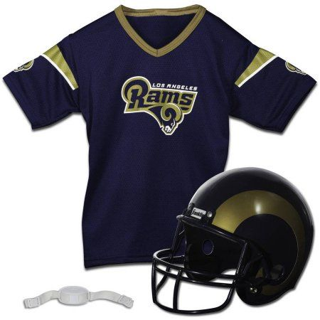 Franklin Sports NFL Los Angeles Rams Helmet Jersey Set, Size: Child, Multicolor