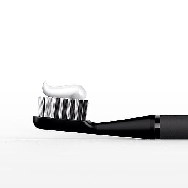 Don't believe what television teaches you about toothbrushes. Chose a small head toothbrush with soft bristles. Brush each tooth surface for 4 seconds and you're done! Your dentist will thank you for it.