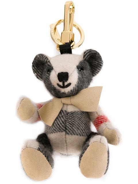 good service wide range differently BURBERRY | Thomas Bear Charm in Check Cashmere | £130 | Timeless ...