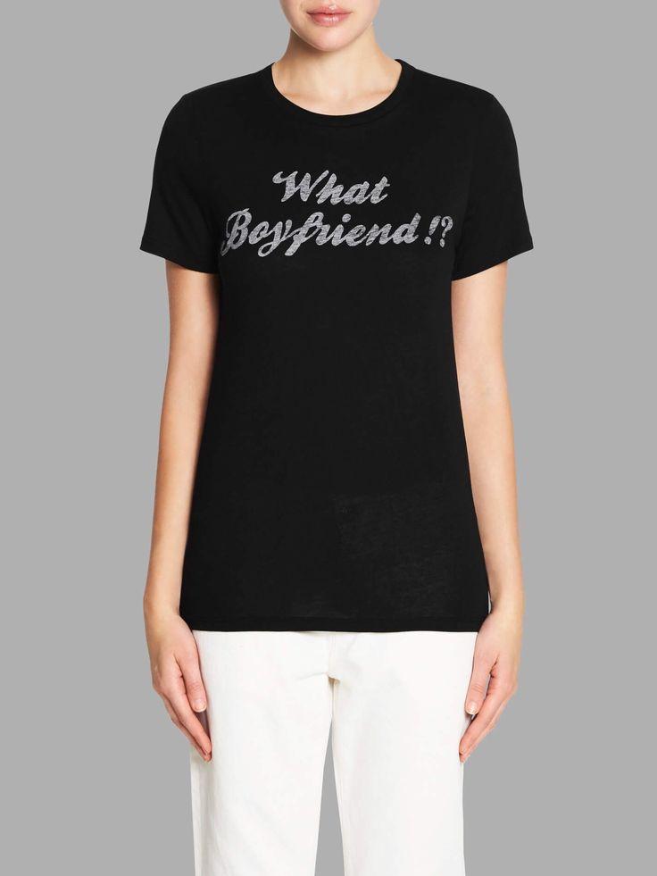ZOE KARSSEN - Hat Boyfriend!? Loose Fit Tee