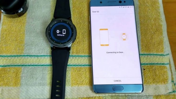 Reactivation Lock On Samsung Account Samsung GEAR S3 Frontier Classic R7...