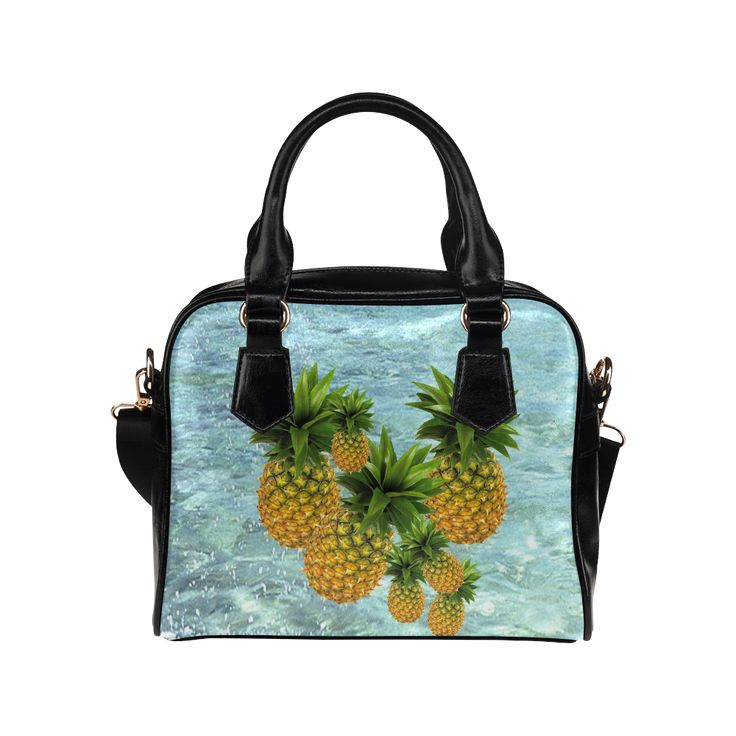 Pineapples Shoulder Handbag. FREE Shipping. #artsadd #bags #fruits