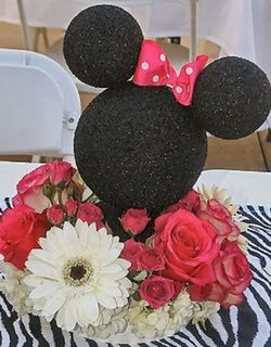 Centre de table minnie