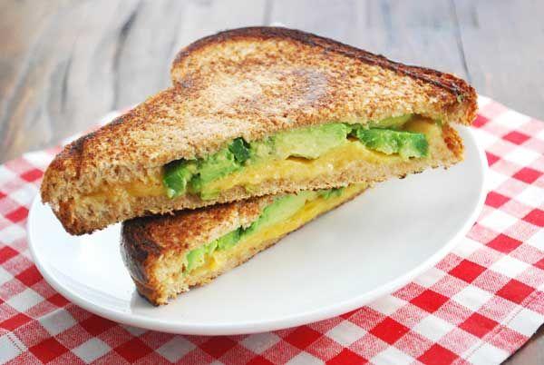 Avocado Jalapeño Grilled Cheese Sandwich