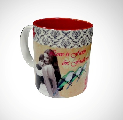 Ceramic Coffee Mug 'Silsila' Imprint  Now At Rs. 250.00