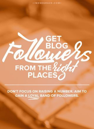 How to grow your blog followers