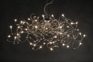 hanglamp 30101: modern, chroom, rond, langwerpig, ovaal ...