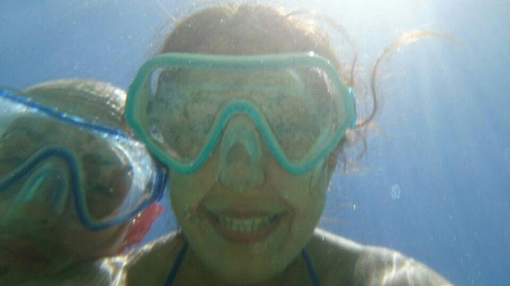 Smile in the sea