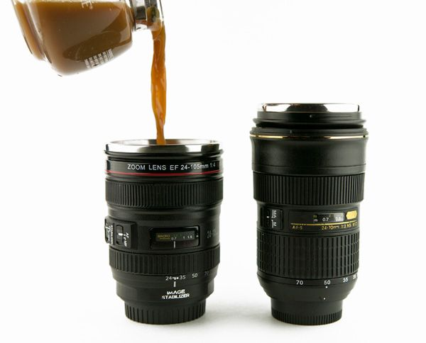 Top 20 Hottest Holiday Gift Ideas for Photographers for $50 or Less. Lens Mug.
