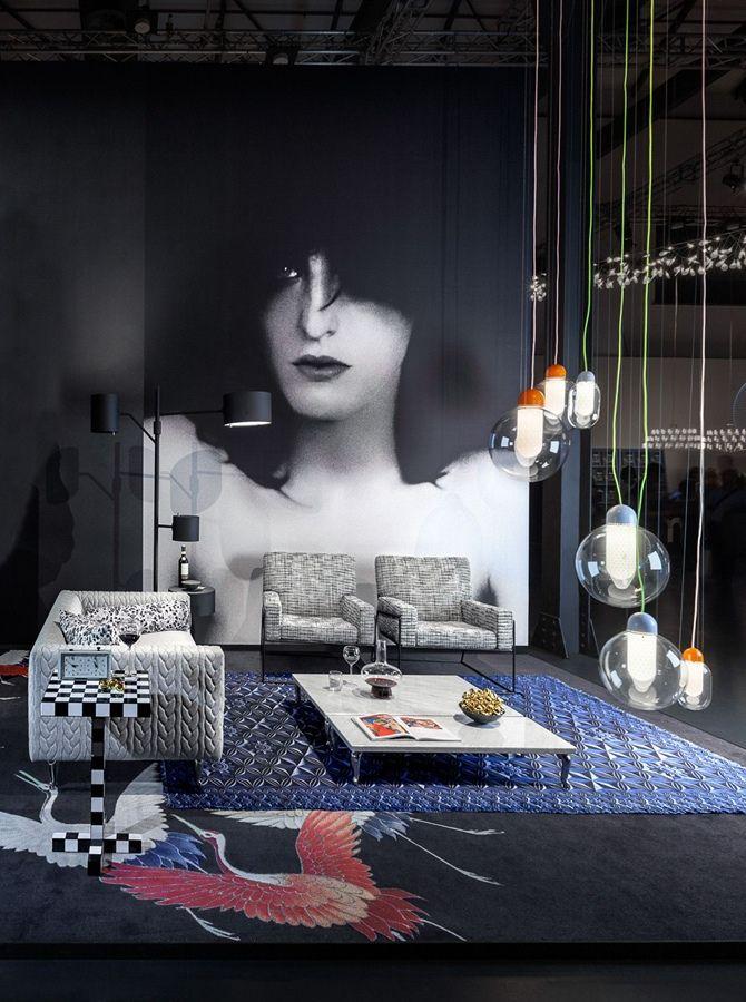Moooi for Milan Design Week 2015 | Dramatic portrait by Erwin Olaf.