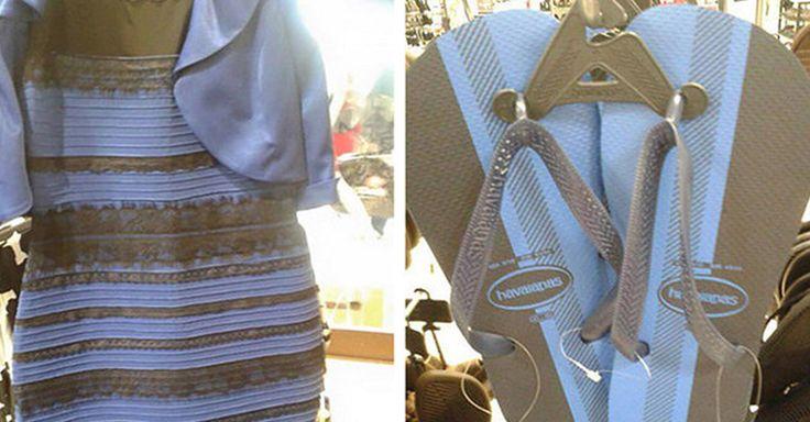 Hace algunos días, un usuario de Twitter subió una fotografía de unas sandalias de plástico y con ella inició un debate similar al vestido de la ilusión óptica