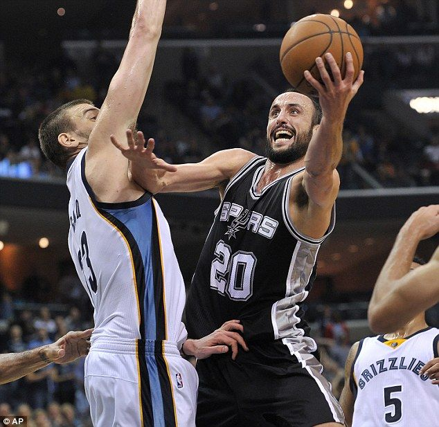 San Antonio Spurs end Memphis Grizzlies' winning streak at home to peg back rivals in tight Southwest Division - DAILY MAIL #Spurs, #Grizzlies