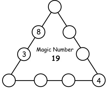 http://www.learn-with-math-games.com/magic-triangle.html