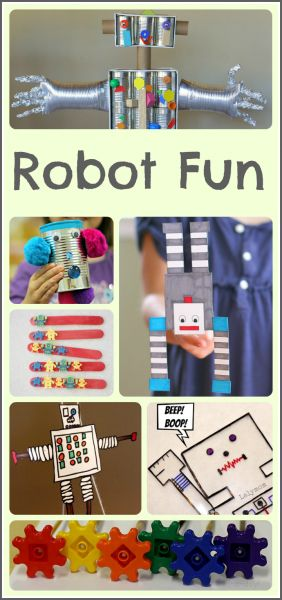 robot activities kids will love