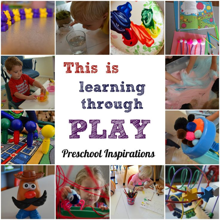 What is learning through play? Here is an explanation of learning through play and what it looks like in my classroom. Play-Based Learning: Why it Matters by Preschool Inspirations
