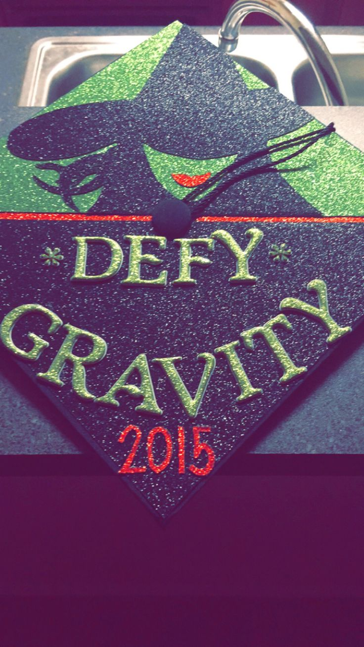 Graduation cap #graduation #graduationcap #wicked #2015 #theatremajor