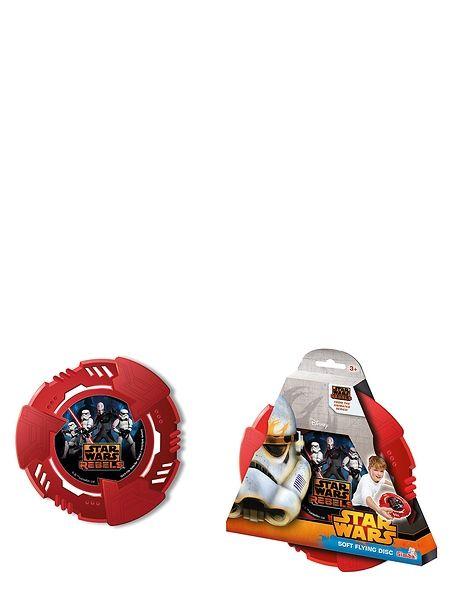 Star Wars -pehmofrisbee. Sinkoa pehmeä Star Wars -frisbee valonnopeudella taistelutoverillesi! Frisbeen halkaisija on 23 cm.