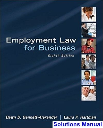 41 best solutions manual download images on pinterest employment law for business 8th edition bennett alexander solutions manual test bank solutions fandeluxe Image collections