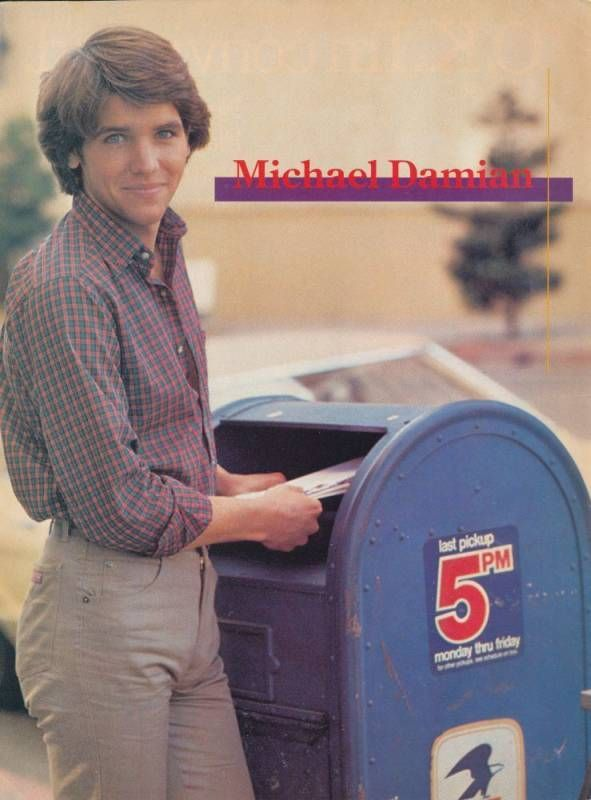 ROCK pinup - MICHAEL ON DAMIAN  SHE songs DID IT Album  