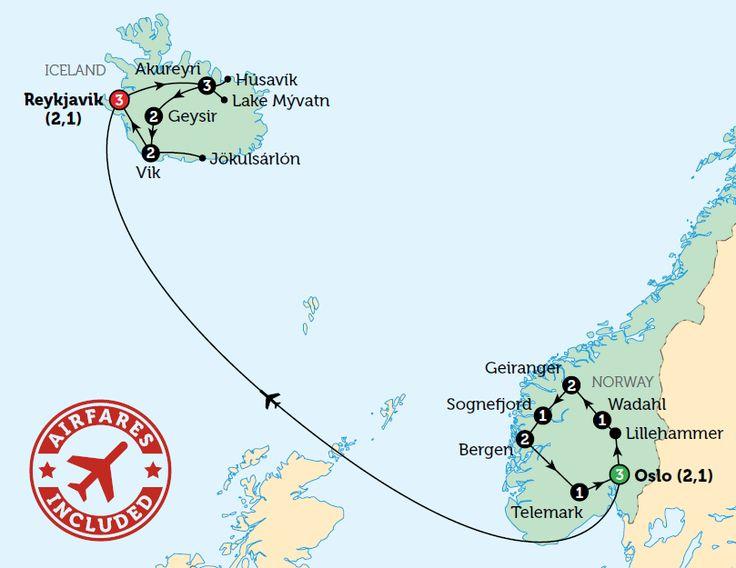 Norway & Iceland | Bunnik Tours