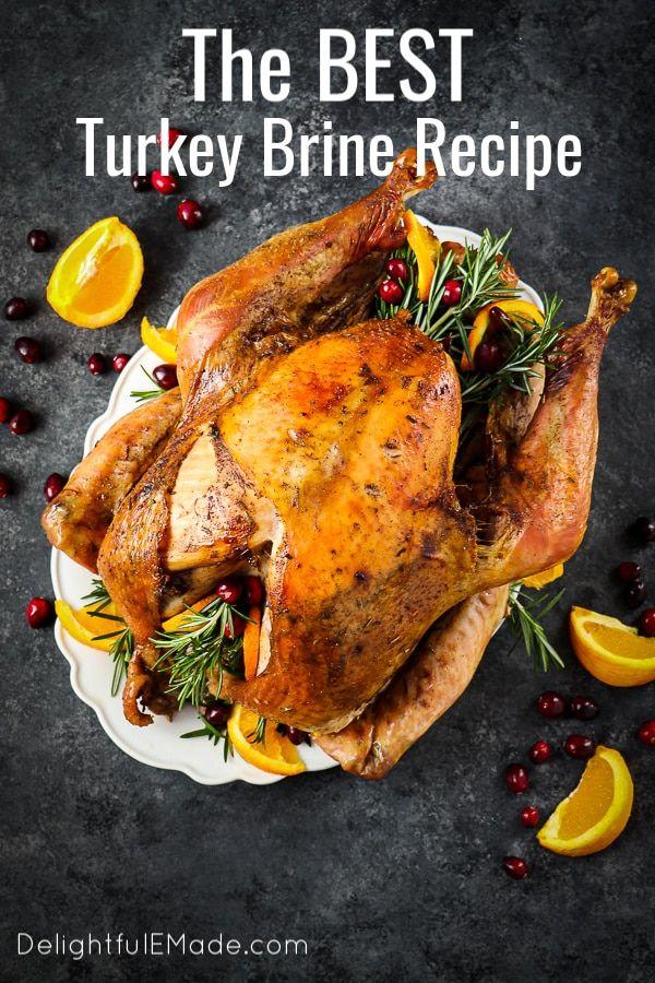 Apple Cider Turkey Brine Recipe