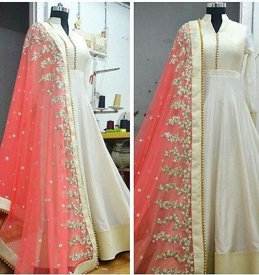 Indian Bollywood Ethnic Designer Anarkali Salwar Kameez Suit & Traditional HYXU in Clothes, Shoes & Accessories, Women's Clothing, Other Women's Clothing | eBay