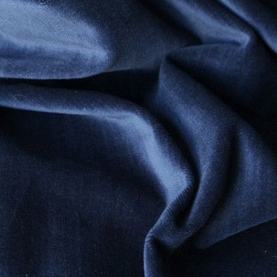 As seen in House   Home Magazine!This rich indigo blue velvet fabric is a beautiful way to add texture, luxury and softness to your space.Suitable for…