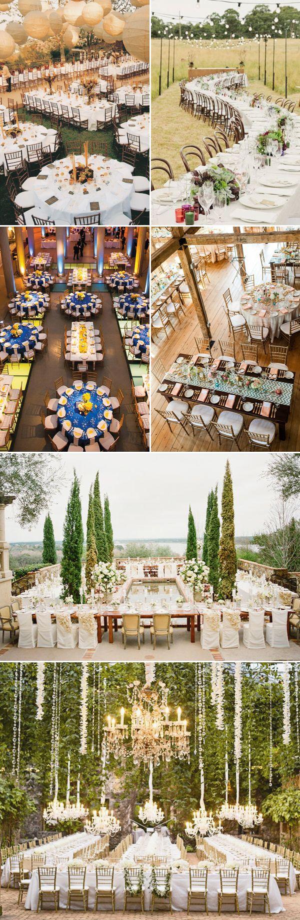 8 Wedding Decor Trends for 2016 - Unique Table Arragements & Seating Plans