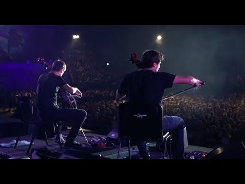 ▶ 2CELLOS - Viva La Vida [LIVE at Arena Pula] - YouTube