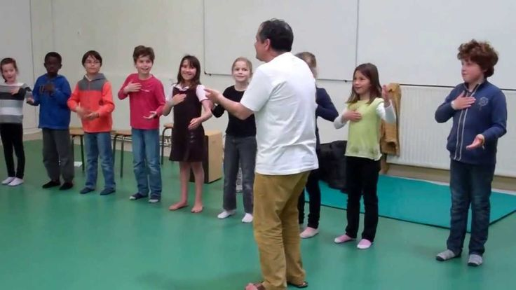 Percussion corporelle 7-8 ans