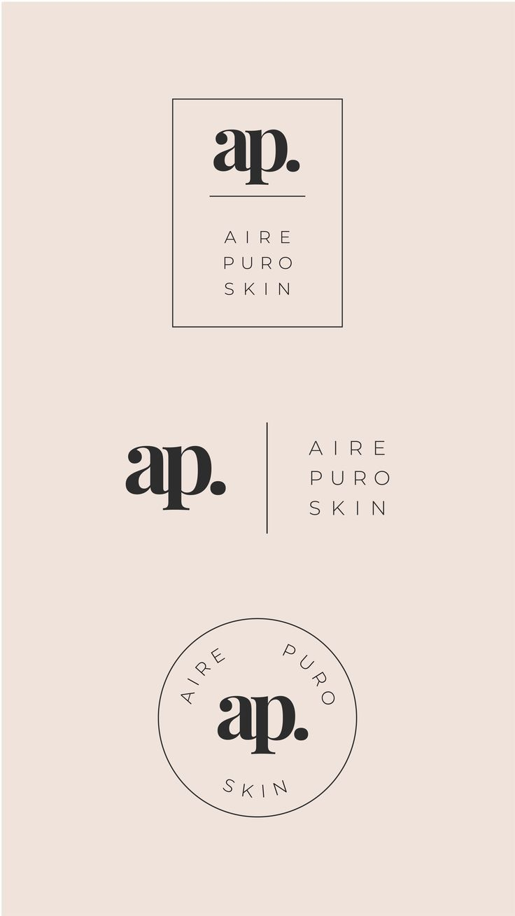 Modern and Minimal Premade Cosmetics Logo Set, Brand Identity Design, Skincare Logo, Photography Stu
