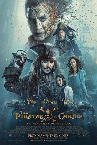 Piratas del Caribe: La venganza de Salazar: Ficha, imágenes, tráiler, frases, localizaciones y sinopsis de la película.