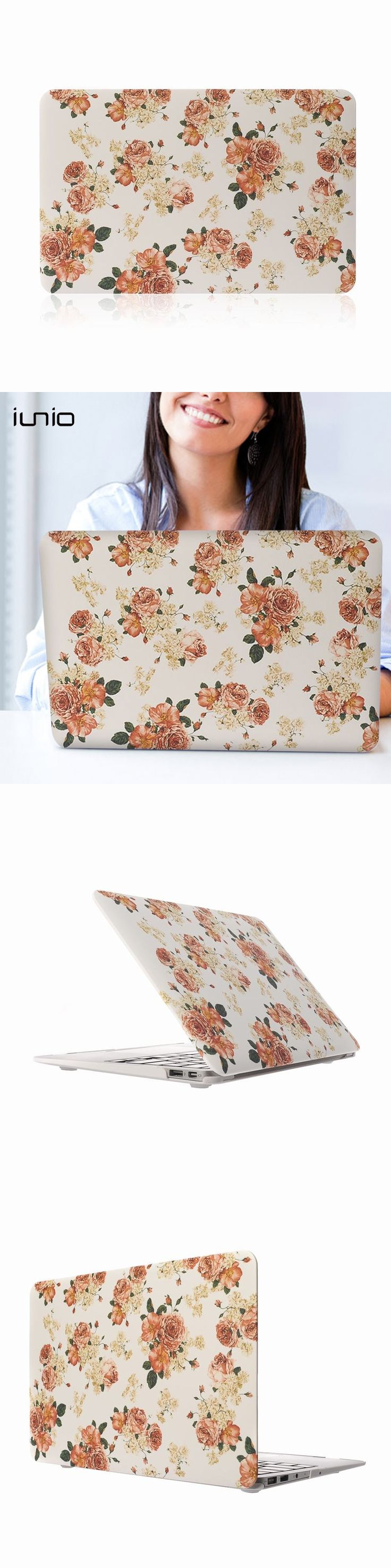 For Macbook Pro Retina 13 Case Print 3D Floral Hard Case For Macbook Pro 13 Fashion Shell Cover For Macbook Air 13.3 Inch Cases
