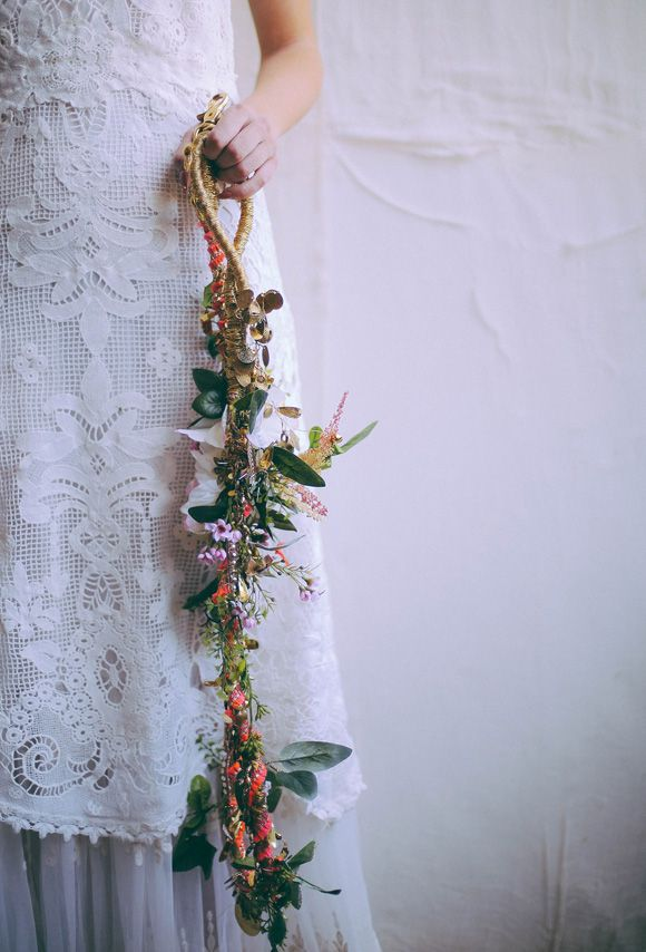 DIY Bridal Dog Leash from the Free People blog
