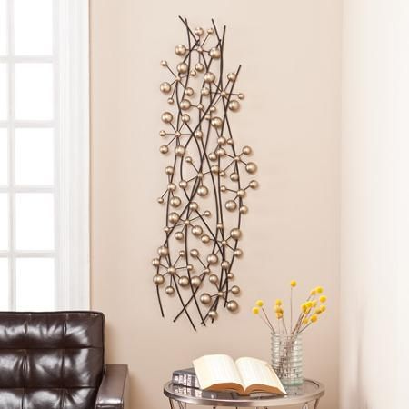 Vorrhes Metal Wall Sculpture Living Room Ideas