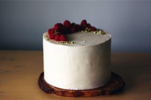 raspberry pistachio cake by seven spoons • tara, via Flickr: Food Recipes, Pistachios Cakes, Raspberries Cakes, Pretty Cakes, Cakes Plates, Simple Cakes, Ice Cream, Wedding Cakes, Beautiful Cakes