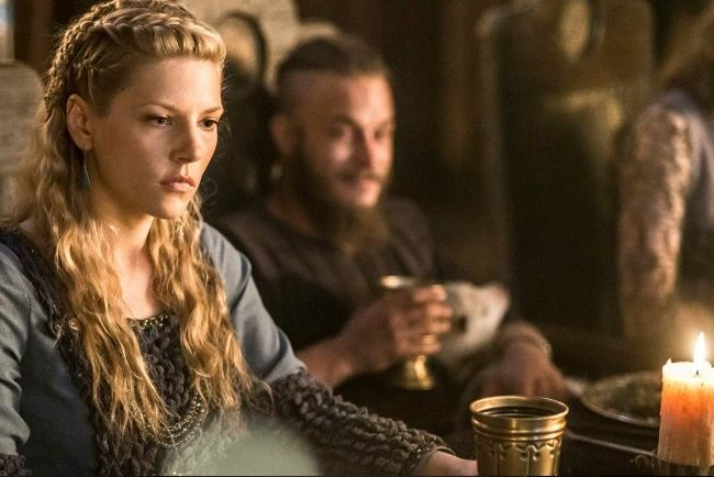Vikings Lagertha Hairstyles