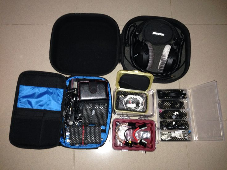 Audio portable gear that i've collected so far...