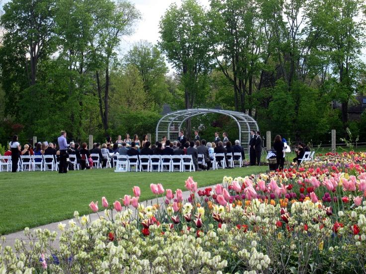 Pennstate Arboretum Wedding Ceremony At The Arboretum At