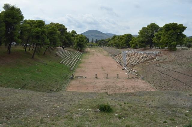 Epidavros, ancient stadium