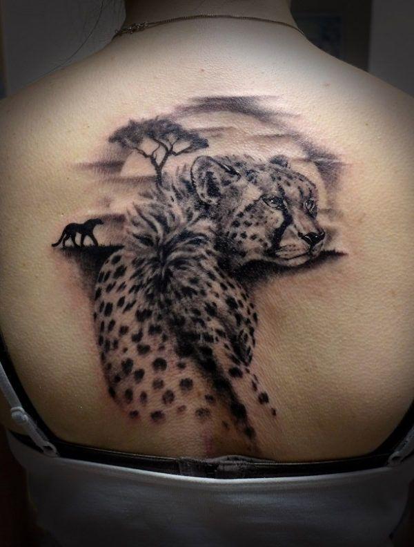 de 25 bedste id er inden for cheetah tattoo p pinterest. Black Bedroom Furniture Sets. Home Design Ideas