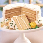 Bailey's Irish Cream liqueur infused cake layers with a fabulous Bailey's cream cheese frosting. Perfect for holidays, birthdays or any day, there is absolutely nothing like biting into a layer cake.