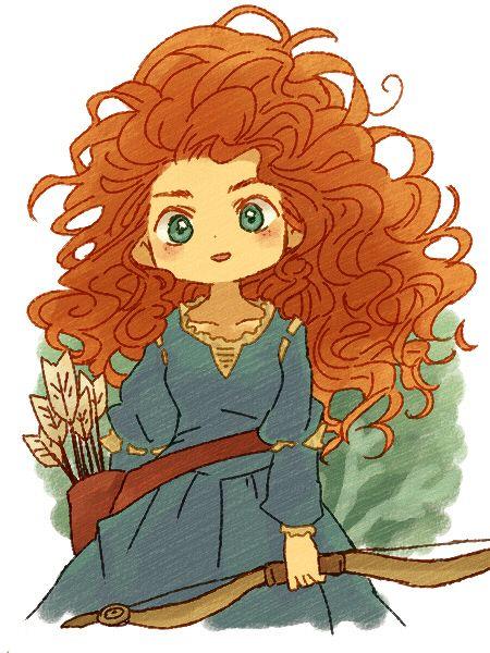 "Source: ""Brave"" Characters: ""Princess Merida"" Artist: ""Bukiko"""