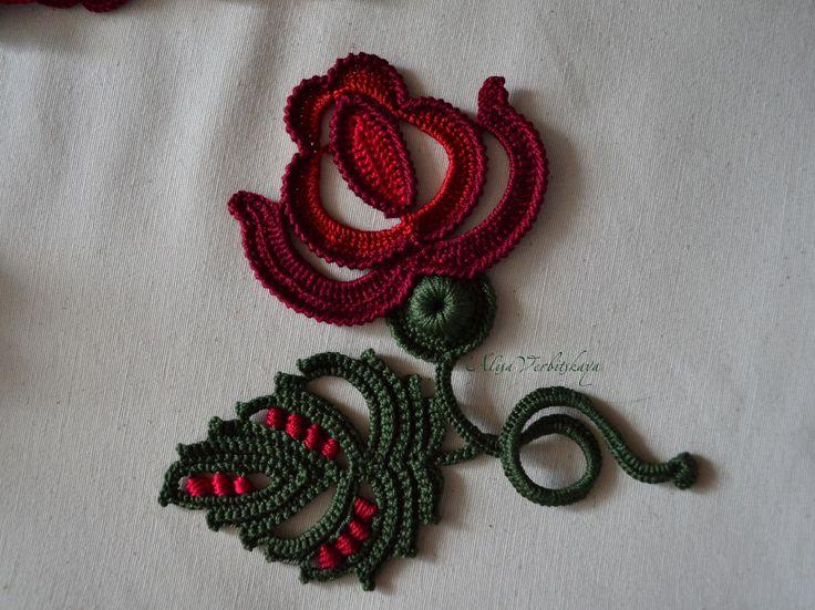 Application. Irish crochet. by AlisaSonya. Irish crochet. Freeform. Motifs…